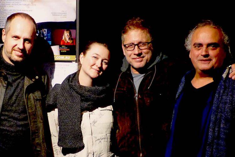 Paris Cat Jazz Club With Darryn, Serge And Tamara