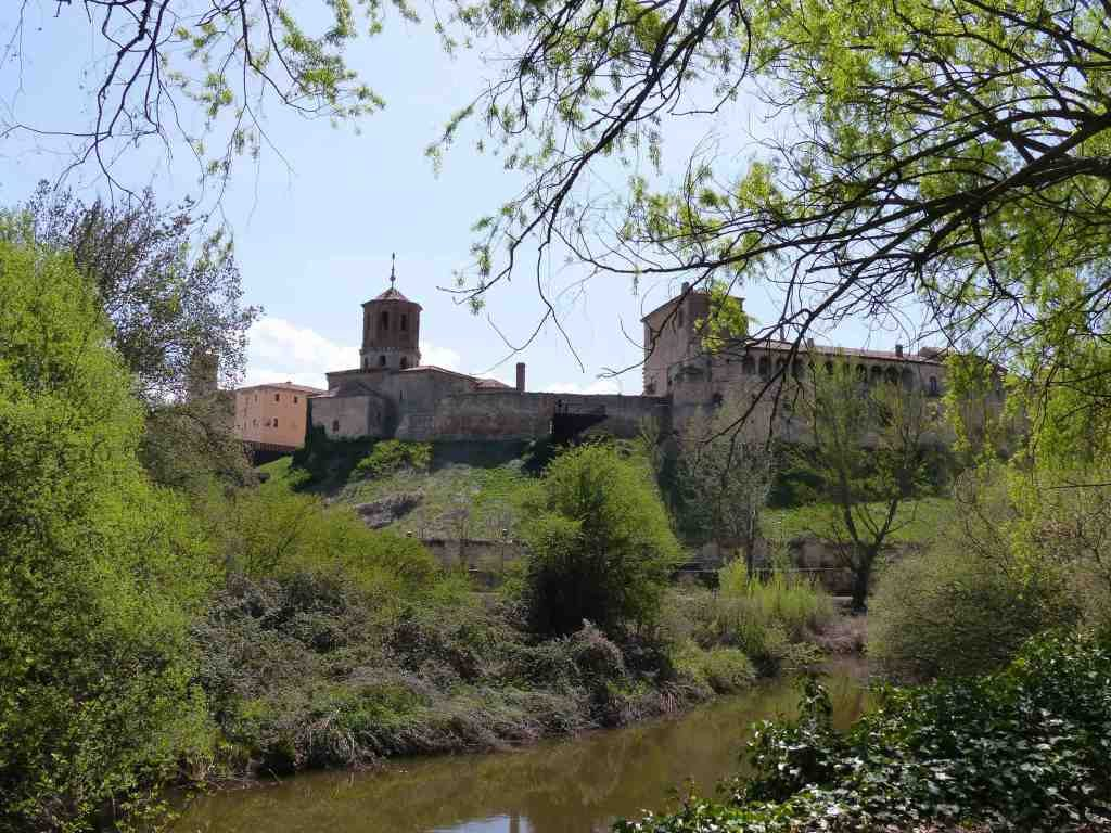 Almazan Spain View from River