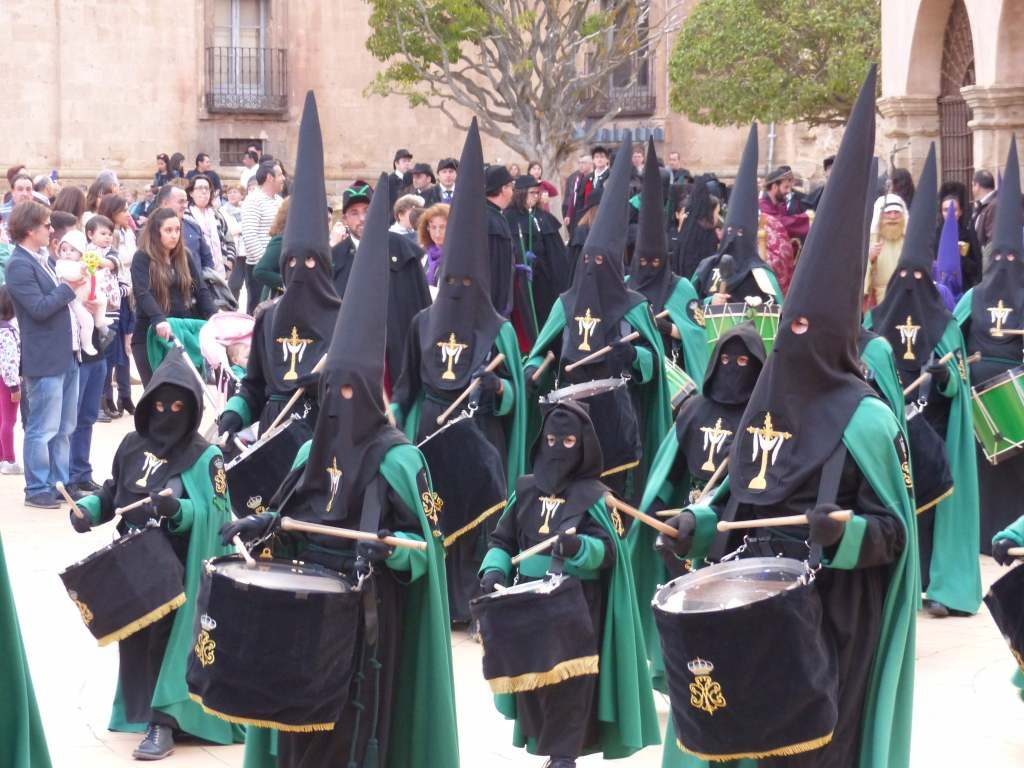 Spanish Music Holy Week in Almazan Spain 2017
