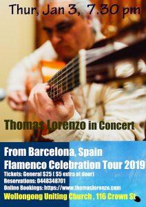 Wollongong Concerts Thomas Lorenzo