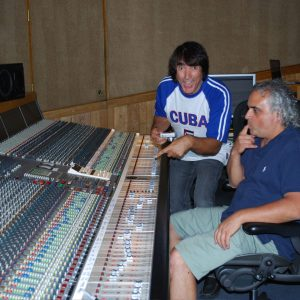 Recording With Walfredo Reyes