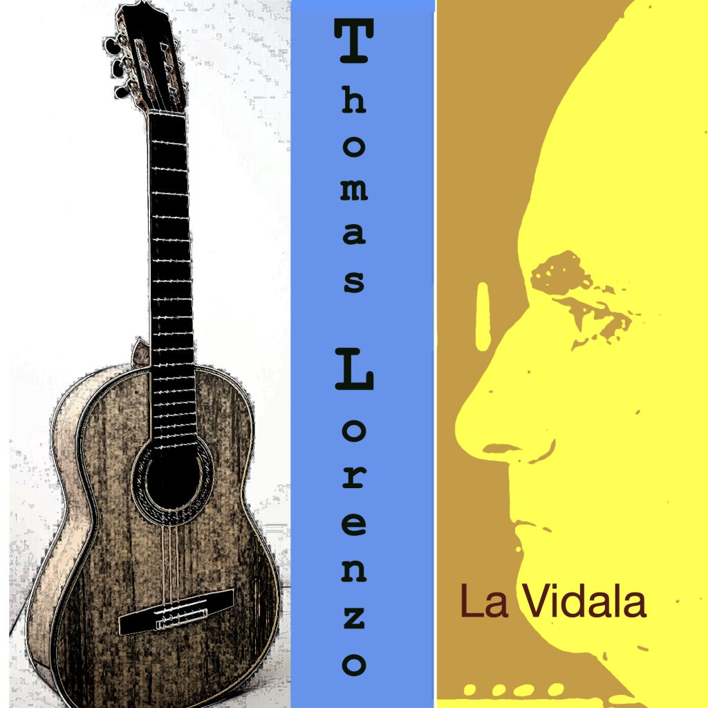 La Vidala, flamenco guitar, 2020 Release, TL productions