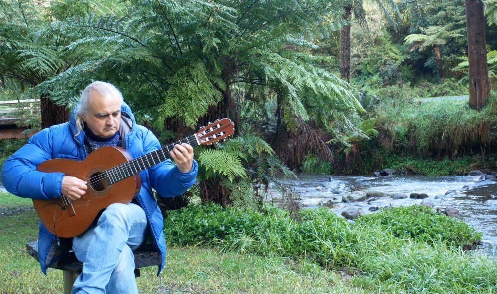 LiveStream Guitar Concerts Tarra Bulga National Parks Victoria Gunai Kurnai Dreamtime Story Albert River